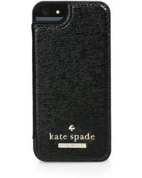 Kate Spade Cedar Street Saffiano Patent-Leather Iphone 5/5S Case - Lyst