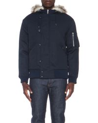 A.P.C. Snow Jacket - Lyst