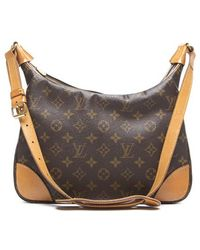 Louis Vuitton Monogram Canvas Boulogne Bag - Lyst