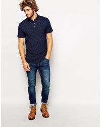 Paul Smith Polo with Paisley Print - Lyst