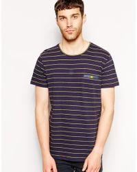 Anerkjendt T-Shirt In Stripe - Lyst