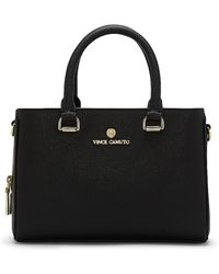 Vince Camuto | Thea - Leather Structured Small Satchel | Lyst