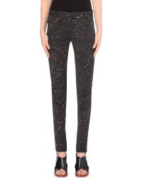 Damir Doma Flecked Stretch-Crepe Trousers - Lyst