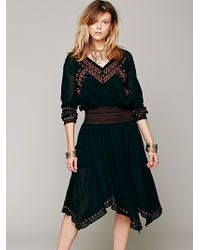 Free People Neo Folk Embroidered Dress - Lyst