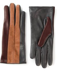 Dolce & Gabbana Colour Block Gloves - Lyst