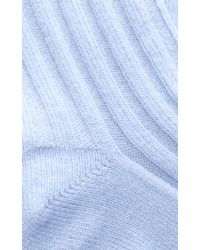 Rochas - Medium Blue Socks - Lyst