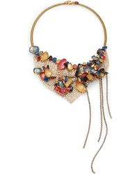 Erickson Beamon Happily Ever After Tassel Bib Necklace - Lyst