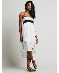 Free People Womens New Romantics Tootsie Dress - Lyst