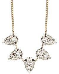 Panacea Five Piece Frontal Necklace - Lyst