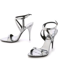 Narciso Rodriguez Carolyn Sandals - Mercury - Lyst