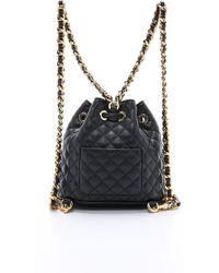 Moschino Shoulder Bag - Black - Lyst