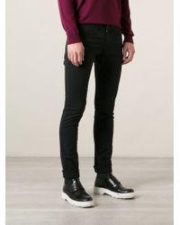 Kenzo Black Slim Jeans - Lyst