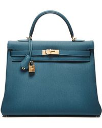 Heritage Auctions Special Collection Hermes 35Cm Colvert Retourne Togo Kelly - Lyst