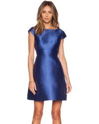 Kate Spade Backless Mini Dress - Lyst