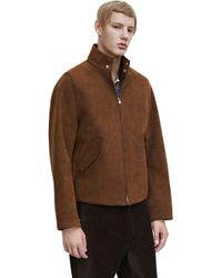 Acne Studios Dane Velours Brown - Lyst