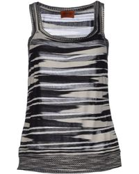 Missoni Top - Lyst