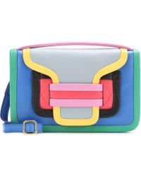 Pierre Hardy Color-Blocked Leather Clutch - Lyst