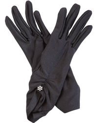 Cornelia James - Nancy Satin Gloves - Lyst