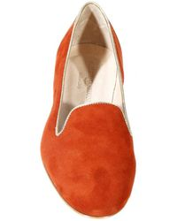 Alberto Guardiani Shoes Slipper Suede with Piping - Lyst