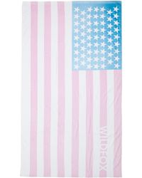 Wildfox Couture Sun Bleached Flag Towel - Lyst