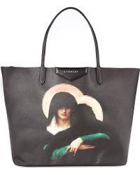 Givenchy Antigona Madonna Large Coated-Canvas Tote - Lyst