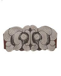 Christian Lacroix - Embellished Waist Belt - Lyst