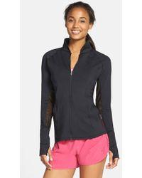 Asics - 'fit - Sana' Mesh Inset Training Jacket - Lyst