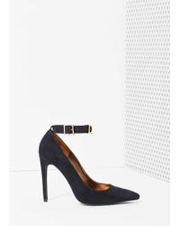 Nasty Gal Jeffrey Campbell Dont Trip Suede Heel - Lyst