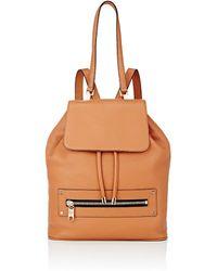 MILLY - Women's Astor Drawstring Backpack - Lyst