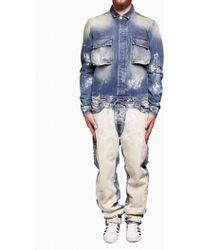 Off-White c/o Virgil Abloh | blue Carpenter Jumpsuit | Lyst