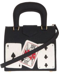 Olympia Le-Tan Playing Cards Handle Bag - Lyst