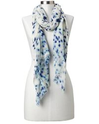 Gap Painterly Floral Scarf - Lyst