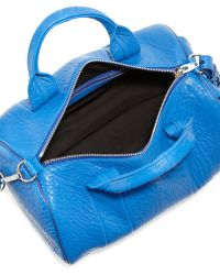 Alexander Wang Rocco Studbottom Duffel Bag Royal Blue - Lyst