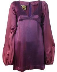 Biba Vintage Bell Sleeve Mini Dress - Lyst