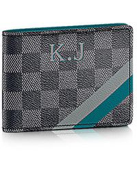 Louis Vuitton Multiple Wallet Mon Damier Graphite - Lyst