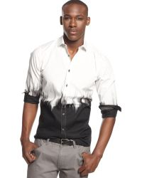 Inc International Concepts Long Sleeve Northern Shirt - Lyst