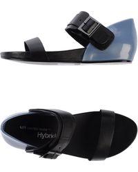 United Nude Black Sandals - Lyst