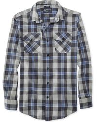 American Rag Cool Plaid Flannel Shirt - Lyst