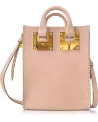 Sophie Hulme - Blossom Pink Albion Nano Tote Bag - Lyst