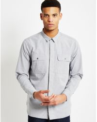 Levi's | Long Sleeve Commuter Workshirt Grey | Lyst