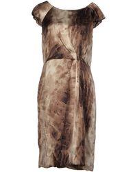 Max Mara Studio Knee-Length Dress - Lyst