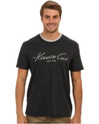 Kenneth Cole Reaction Super Soft Logo Crew Neck Sleep Tee - Lyst