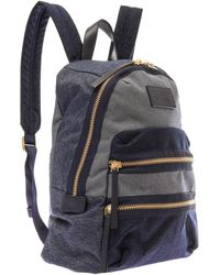 Marc By Marc Jacobs - Patchwork Denim Backpack - Lyst