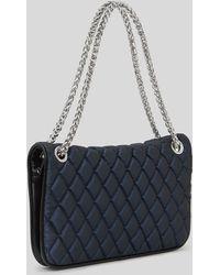 Reiss Shoulder Bag - Tallulah Satin Padded - Lyst