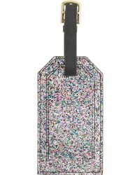 J.Crew - Glitter Luggage Tag - Lyst