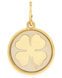 ALEX AND ANI - Four Leaf Clover Charm - Lyst