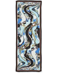 Emilio Pucci Orchidee Show Scarf - Lyst