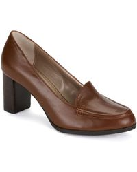 Adrienne Vittadini Brown Fenway Pumps - Lyst