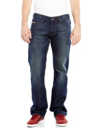 Diesel Dark Wash Viker Regular Straight Jeans - Lyst
