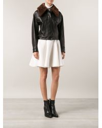 3.1 Phillip Lim Black Fitted Jacket - Lyst